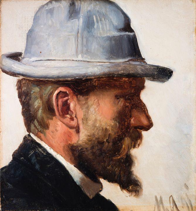 Michael Ancher~Niels Pedersen Mols - Old classic art