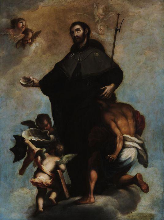 Miguel Cabrera~Saint Francis Xavier - Old classic art