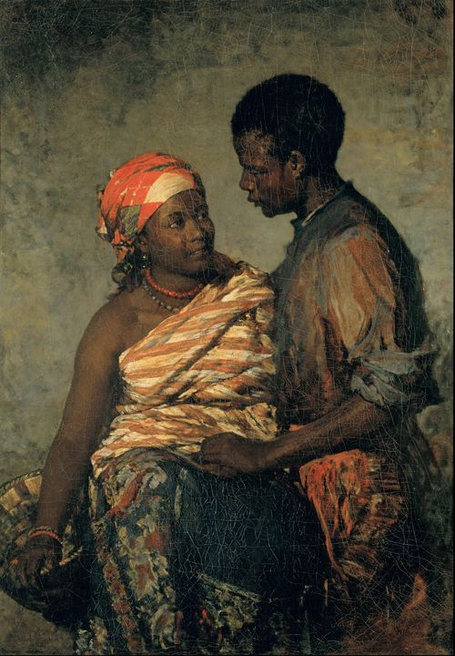 Miguel Ângelo Lupi~The negros of Ser - Old classic art