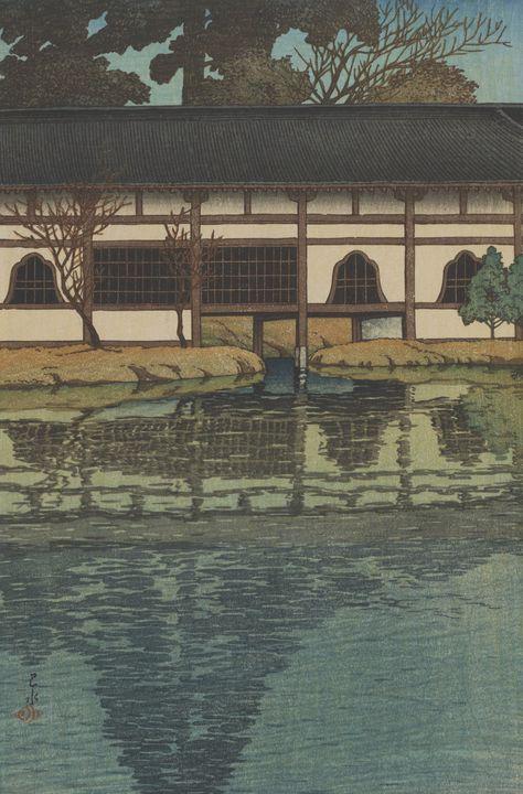 Artist Kawase Hasui, Publisher S. Wa - Old classic art