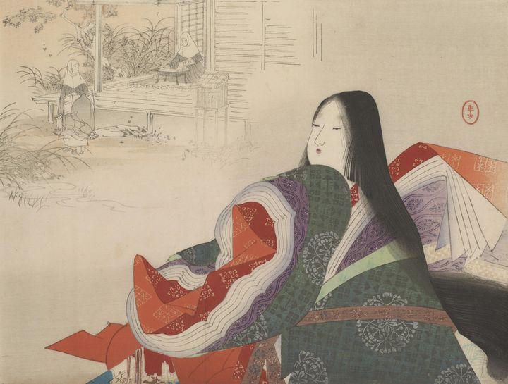 Artist Mizuno Toshikata, Artist Haku - Old classic art