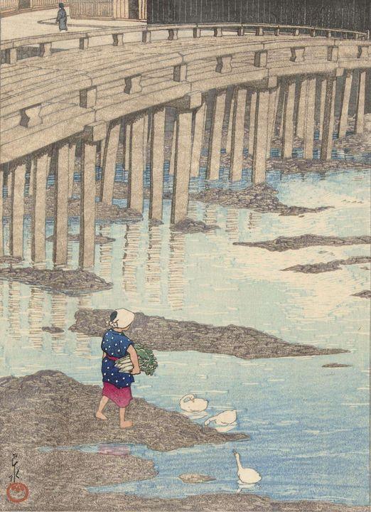 Kawase Hasui, Watanabe Sh«zabur«~De - Old classic art