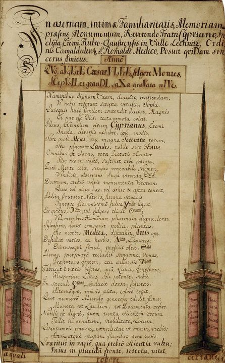 Mních Cyprián - František Ignác Jäsc - Old classic art