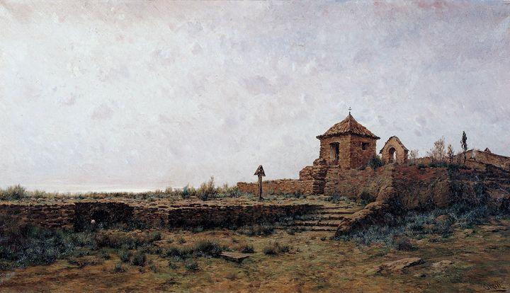 Modest Urgell~Landscape - Old classic art