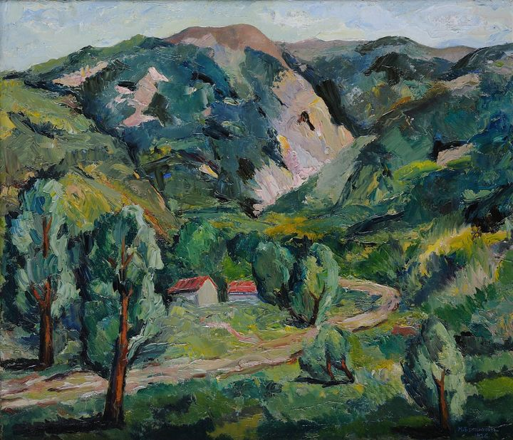Mordohay Benzion (1898–1941)~A nook - Old classic art