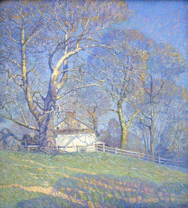 N. C. Wyeth~Buttonwood Farm - Old classic art