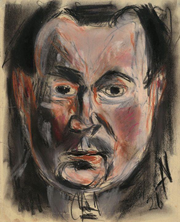 Nadel, Arno~Self-Portrait - Old classic art