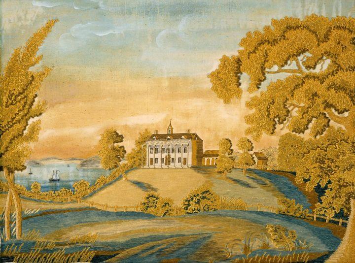 Nancy Ellis Brewster~View of Mount V - Old classic art