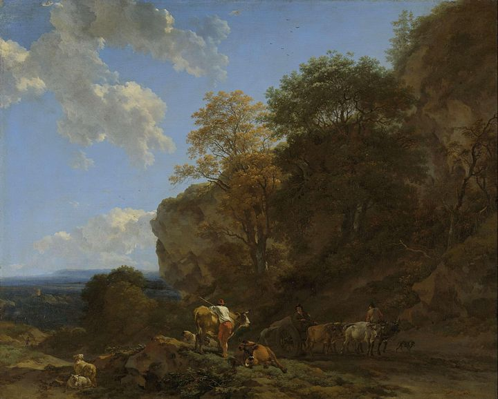 Nicolaes Pieterszoon Berchem~Italian - Old classic art