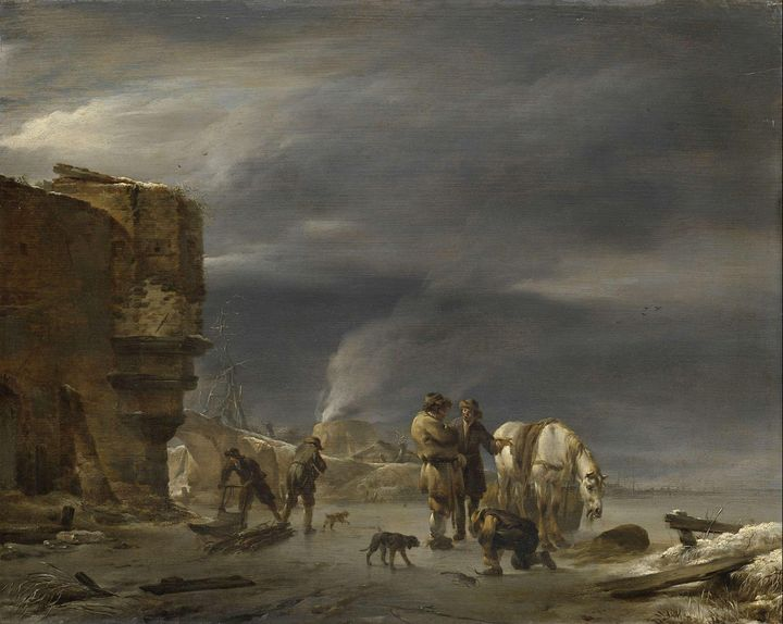 Nicolaes Pieterszoon Berchem~On the - Old classic art