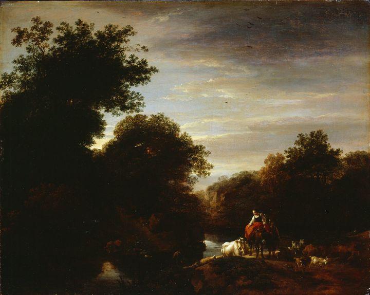 Nicolaes Pieterszoon Berchem~Peasant - Old classic art