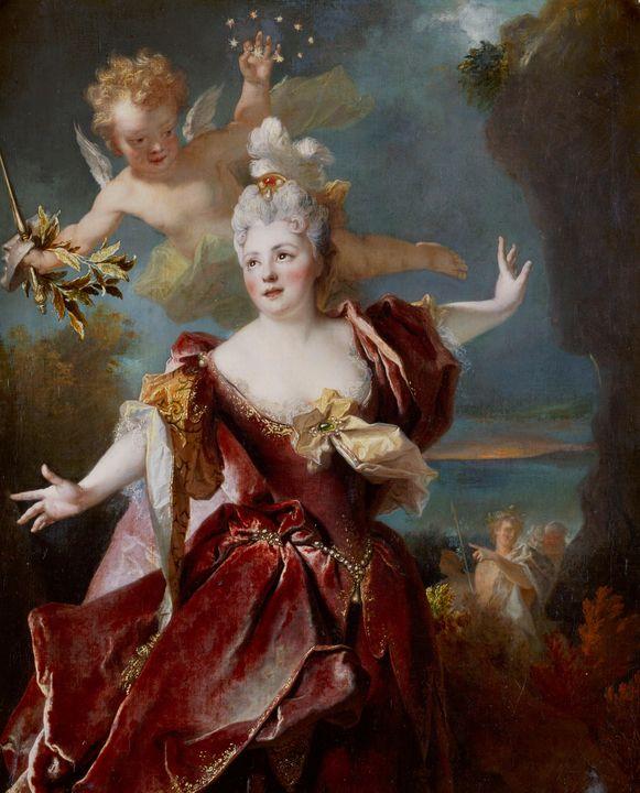 Nicolas de Largillière~Portrait de l - Old classic art