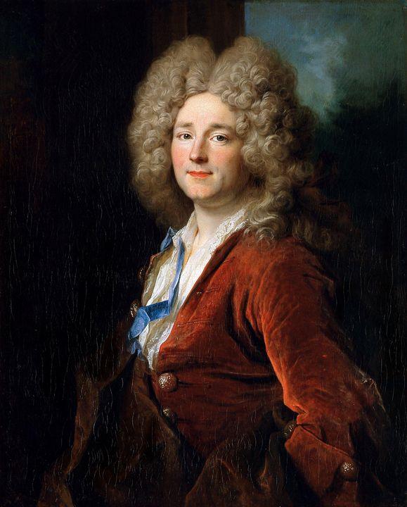 Nicolas de Largillière~Portrait of a - Old classic art