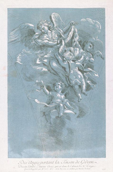 Nicolas Le Sueur, Comte de Caylus, a - Old classic art