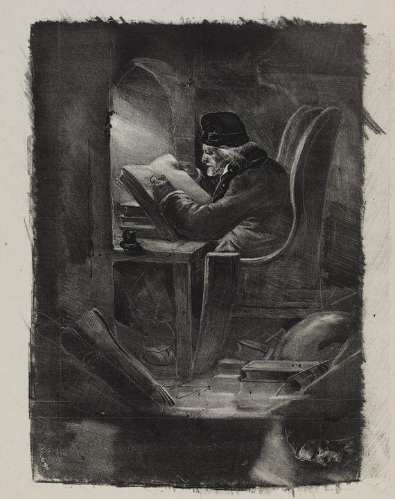 Nicolas Toussaint Charlet~Essai à la - Old classic art
