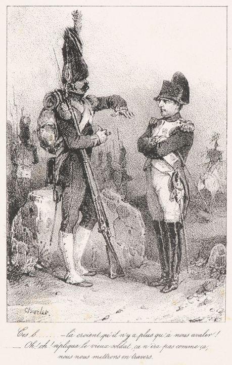 Nicolas Toussaint Charlet~Napoléon a - Old classic art