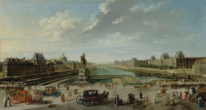 Nicolas-Jean-Baptiste Raguenet~A Vie - Old classic art