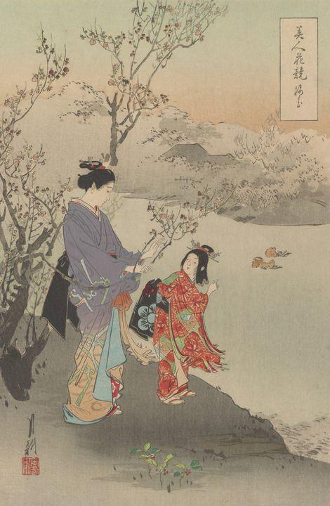 Ogata Gekkō~Flowers of Japan - Old classic art