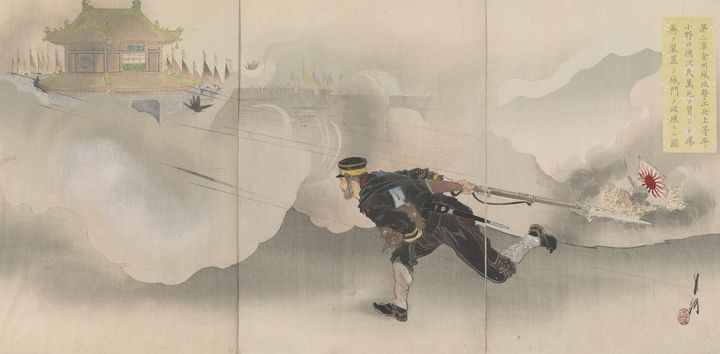 Ogata Gekkō~Private Onoguchi Of The - Old classic art