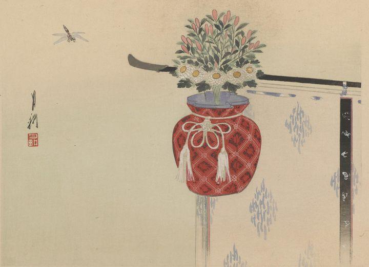Ogata Gekkō~Twelve Kwacho (Nature St - Old classic art