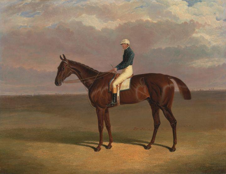 Old John Frederick Herring ~'Margrav - Old classic art