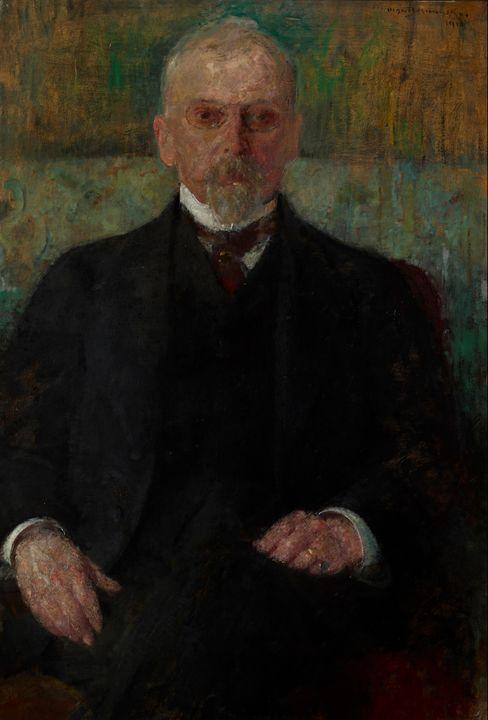 Olga Boznańska~Portrait of Henryk Si - Old classic art