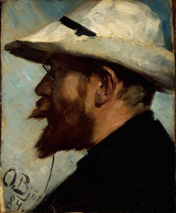 Oscar Björck~P.S. Krøyer - Old classic art