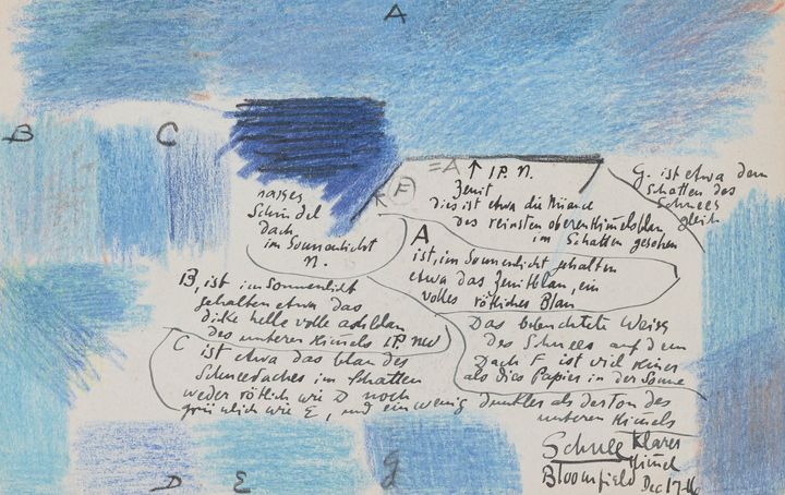 Oscar Florianus Bluemner~Color studi - Old classic art
