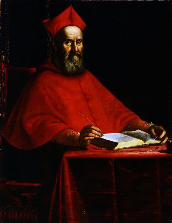 Ottavio Leoni~Cardinal Domenico Tosc - Old classic art