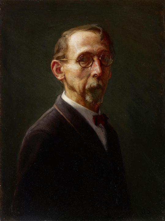 Otto Stark~Self-Portrait - Old classic art