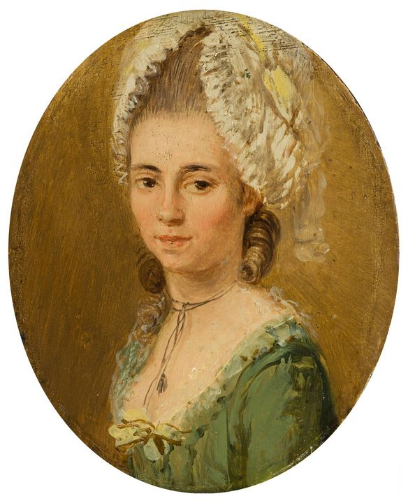 Ozias Humphry~Portrait of a Woman - Old classic art