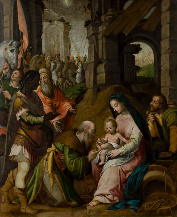 Pablo Scheppers~Adoration of the Mag - Old classic art