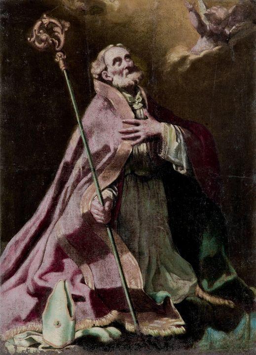 Painter of the eighteenth century~St - Old classic art