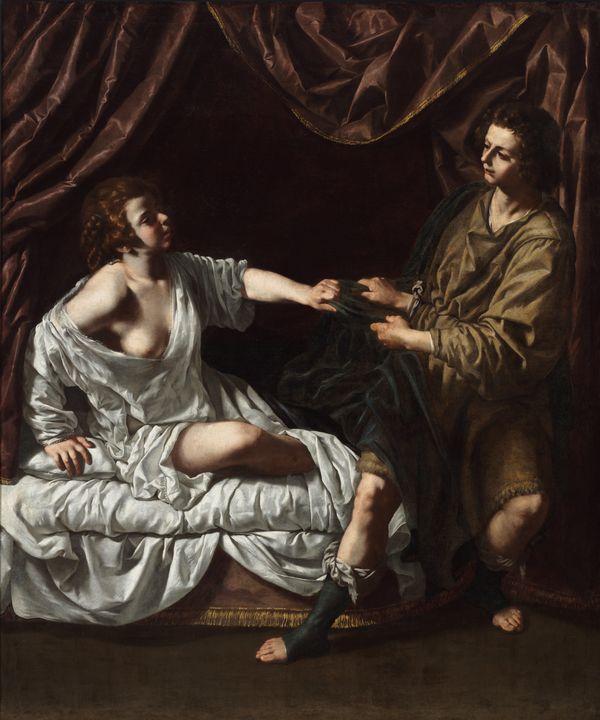 Paolo Finoglia~Joseph and Potiphar's - Old classic art