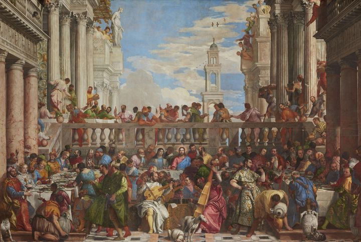Paolo Veronese~The Wedding at Cana - Old classic art