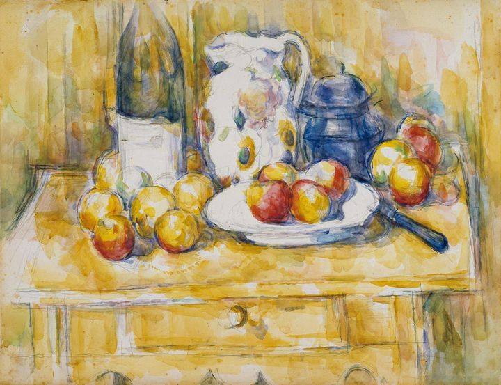 Paul Cezanne~Still Life with Apples - Old classic art