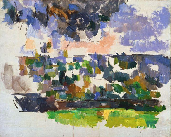 Paul Cezanne~The Garden at Les Lauve - Old classic art