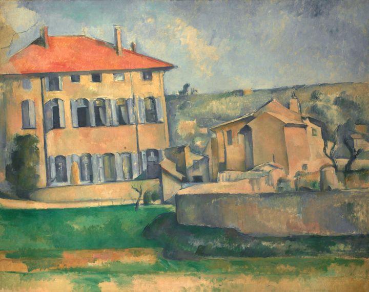 Paul Cézanne~House in Aix - Old classic art