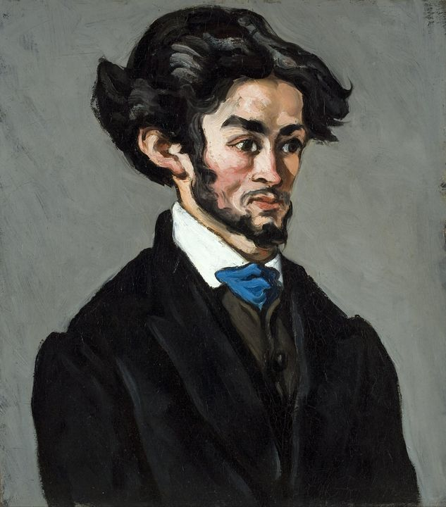 Paul Cézanne~Portrait Romantique - Old classic art