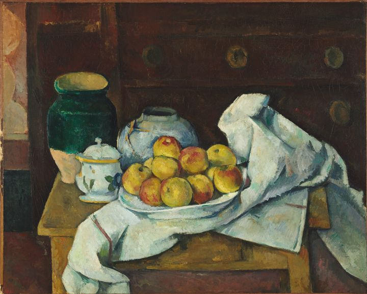 Paul Cézanne~Still Life with Commode - Old classic art