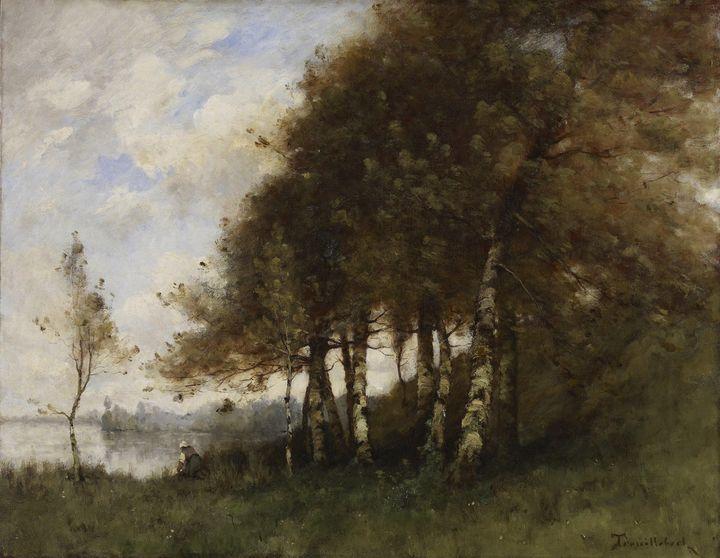 Paul Désiré Trouillebert (French, 18 - Old classic art