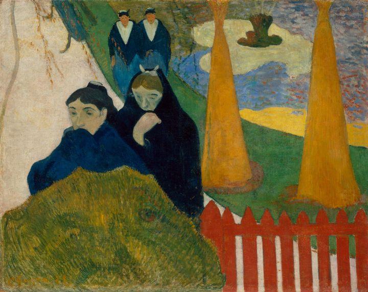 Paul Gauguin~Arlésiennes (Mistral) - Old classic art