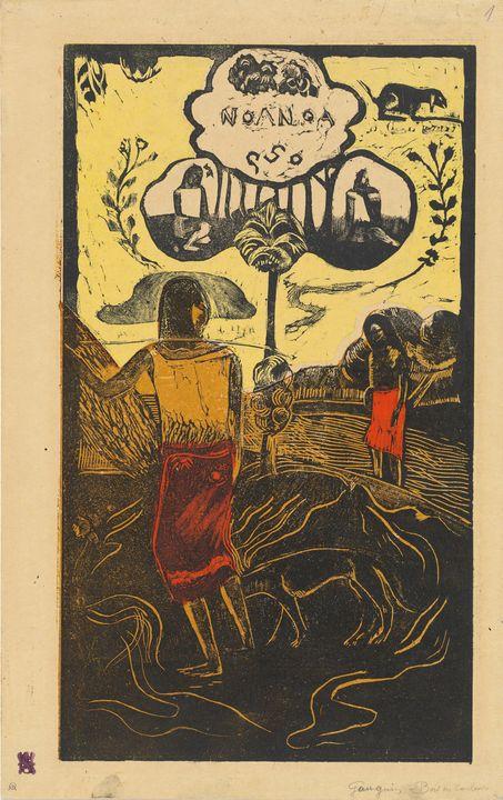 Paul Gauguin~Noa Noa (Fragrant, Frag - Old classic art