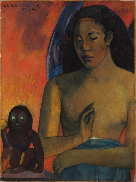 Paul Gauguin~Poèmes Barbares - Old classic art