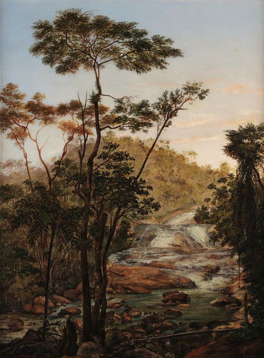 Nicolau Antônio Facchinetti~Cascata - Old classic art