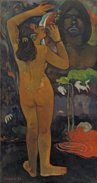 Paul Gauguin~The Moon and the Earth - Old classic art