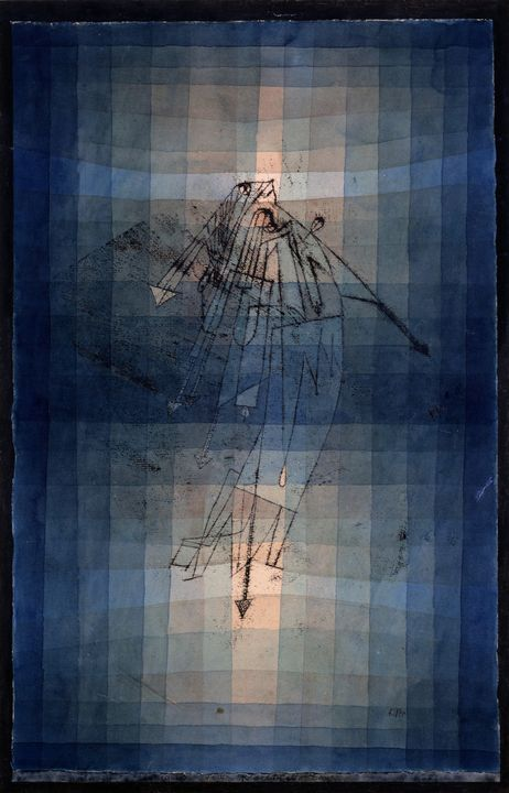 Paul Klee~Dance of Moth - Old classic art