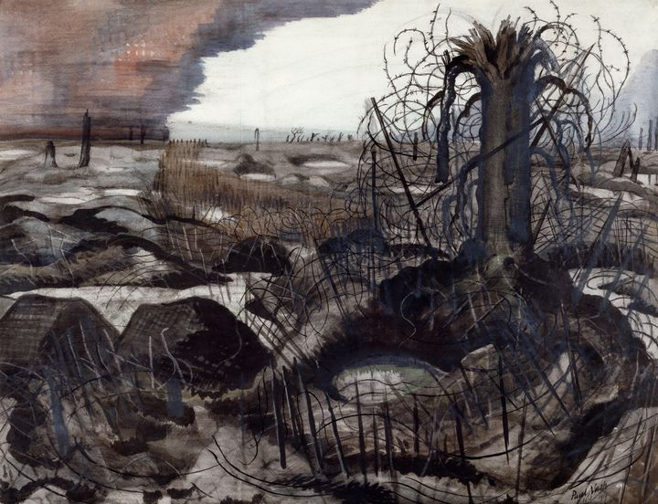 Paul Nash~Wire - Old classic art