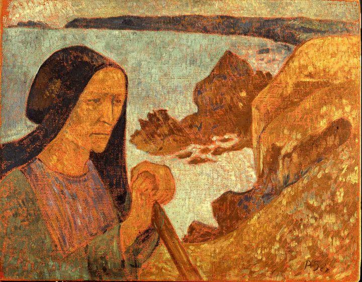 Paul Sérusier~La Vieille du Pouldu - Old classic art