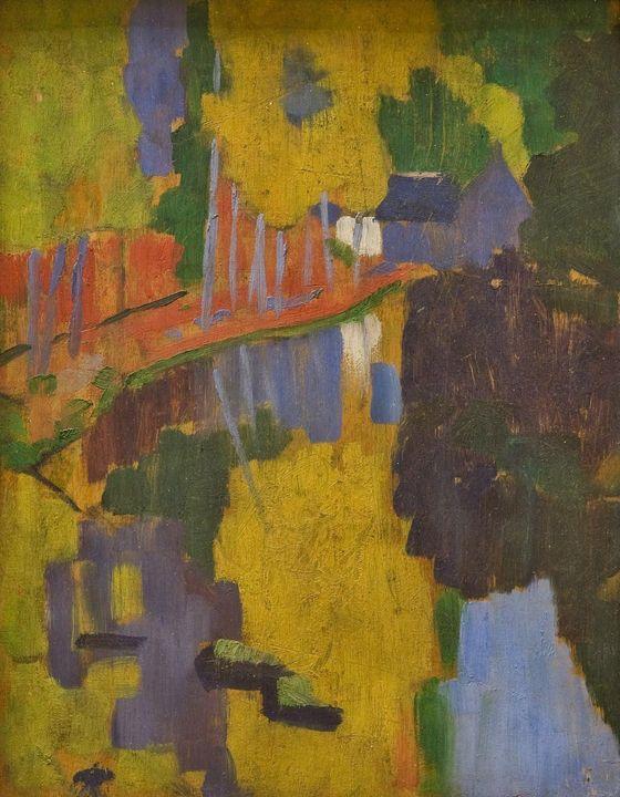 Paul Sérusier~The Talisman - Old classic art